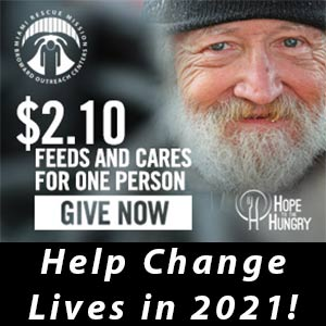 Donate to help the homeless and needy this New Year.