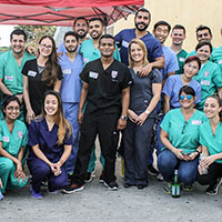 Barry University Podiatry Students