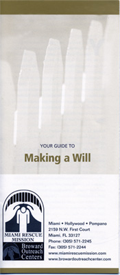 Making a Will Brochure